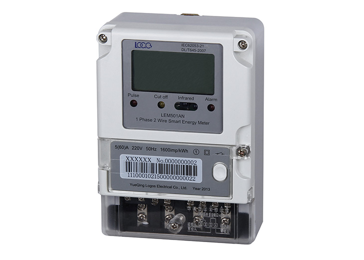 LEM501 Series Front Panel Mounted Single Phase Smart Energy Meter ...