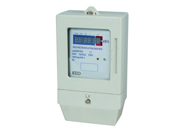 Prepayment Meter - Front Panel Mounted Prepaid Meter Electric meter ...